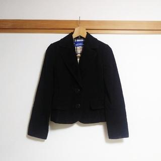 バーバリーブルーレーベル(BURBERRY BLUE LABEL)のバーバリーブルーレーベル★ジャケット38 ベロア(テーラードジャケット)