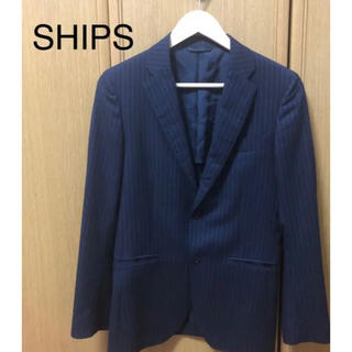 シップス(SHIPS)のSHIPS 2Bテーラードジャケット ストライプ ウール(テーラードジャケット)