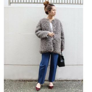 フレームワーク(FRAMeWORK)の売り切れ❗フレームワーク❤️可愛いモコモコジャケット(毛皮/ファーコート)