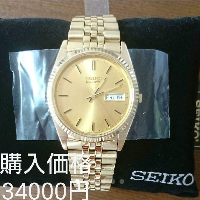 SEIKO - 新品 SEIKO 腕時計 金色 SGF206の通販