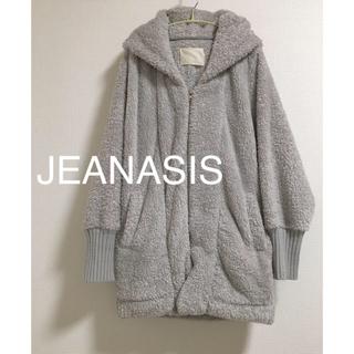 ジーナシス(JEANASIS)のジーナシス フード付き ボアパーカー (毛皮/ファーコート)