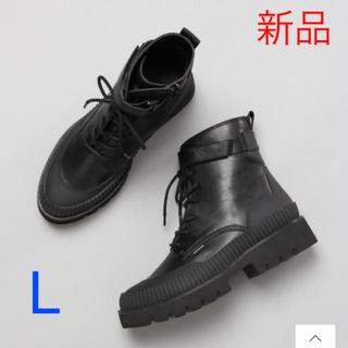 JEANASIS - 今期!JEANASiS ビガーブーツ ブラック Lサイズ