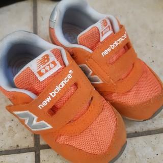 New Balance - ニューバランス new balance 15.5cm スニーカー オレンジ