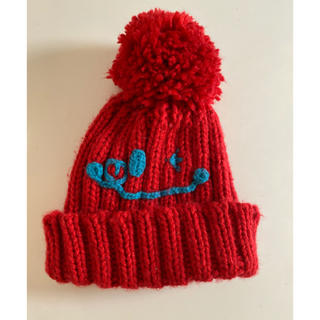 BEAMS - BEAMS mini ニコちゃんニット帽