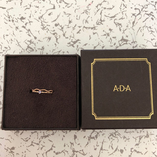 A.D.A ピンキーリング 誕生石(リング(指輪))