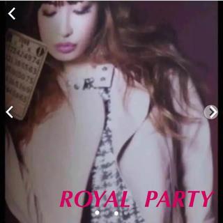 ロイヤルパーティー(ROYAL PARTY)の美品♡ ROYAL PARTY  本革レイダースジャケット❤︎再出品(ライダースジャケット)