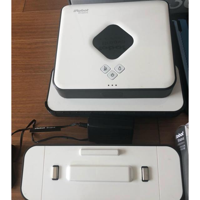 iRobot(アイロボット)のkj0217様専用。ブラーバ380j スマホ/家電/カメラの生活家電(その他 )の商品写真
