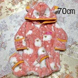 アンパサンド(ampersand)のbaby anpersand ジャンプ スーツ 70㎝(ジャケット/コート)