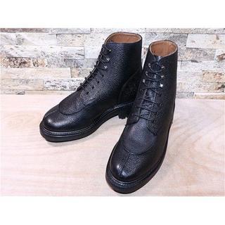 グレンソン アンクルブーツ 黒 25,5cm(ブーツ)