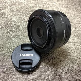 Canon - 絶妙なボケ味✨キャノン Canon EF-M 22㎜ プロテクター付き