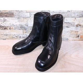 USA製 HY TEST アンクルブーツ 黒 25,5cm(ブーツ)