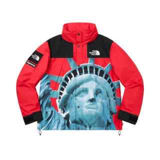 Supreme - Supreme North Face Mountain Jacket Red