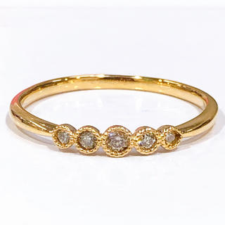 K10 ダイヤモンド リング(リング(指輪))