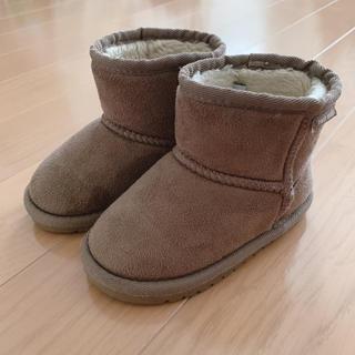 プティマイン(petit main)のプティマイン ムートンブーツ 15㎝(ブーツ)