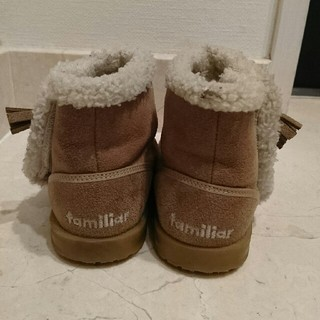 ファミリア(familiar)のfamiliar ブーツ 14.5cm(ブーツ)