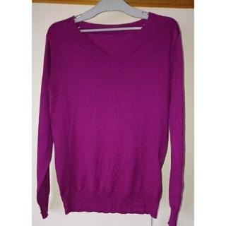 美ゆる カシミアタッチ洗えるセーター(ニット/セーター)