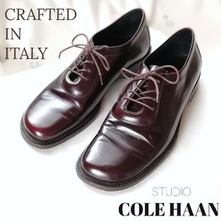 コールハーン(Cole Haan)のCOLE HAAN(コールハーン)オックスフォード/レースアップ/革靴/22㎝(ローファー/革靴)