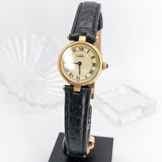Cartier - 【仕上済】カルティエ ヴァンドーム SM ゴールド レディース 腕時計