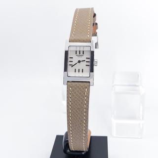Hermes - 【OH済/仕上済】エルメス タンデム シルバー レディース 腕時計 時計
