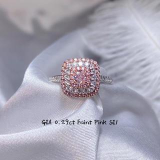giaピンクダイヤモンド指輪