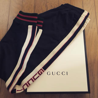 Gucci - GUCCI テクニカルジャージ パンツ XSサイズ