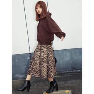 GRL - ♡GRL レオパードロングスカート♡