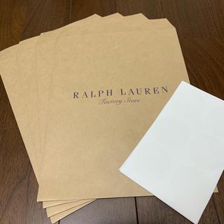 ポロラルフローレン(POLO RALPH LAUREN)の【新品】ラルフローレン ポロ POLO 紙袋&シール 6枚セット(ショップ袋)