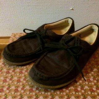 !!今月で処分!!スエード調の靴(ハイヒール/パンプス)