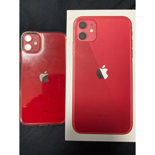 Apple - iPhone 11 256GB SIMフリー Red apple care加入