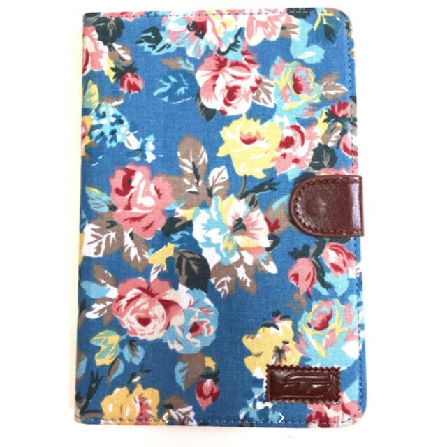 iPadケース iPadカバー 花柄 mini Pro 色: 青 スマホ/家電/カメラのスマホアクセサリー(iPadケース)の商品写真