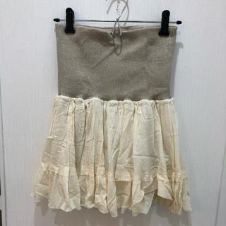 ドゥーズィエムクラス(DEUXIEME CLASSE)のドゥーズィエムクラス ミニスカート 美品(ミニスカート)