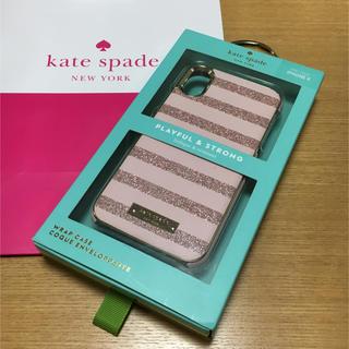 kate spade new york - 新品 ケイトスペード iPhoneXケース