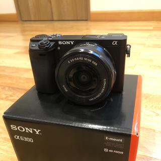 SONY - ソニー ミラーレス一眼カメラ α6300 パワーズームレンズキット