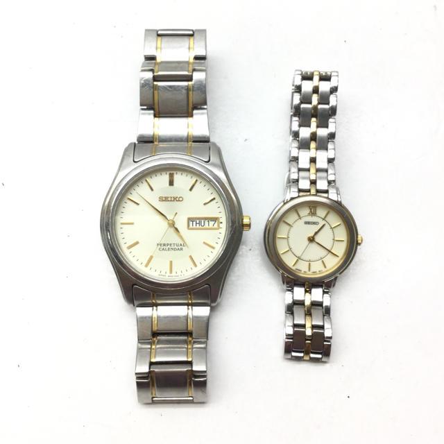 SEIKO - SEIKO 腕時計 2点セットの通販