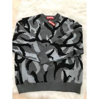 Supreme - Supreme 19FW Tribal Camo Sweater セーター