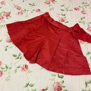 ジェーンマープル(JaneMarple)のジェーンマープル☆jane marple☆サテン?の赤色キュロット(キュロット)