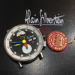 アランシルベスタイン(Alain Silberstein)の極美品! ☆アランシルベスタイン☆ クロノバウハウス2 腕時計 フルセット(腕時計(アナログ))