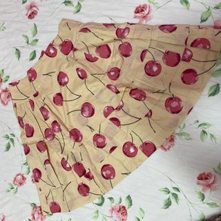 ジェーンマープル(JaneMarple)のジェーンマープル☆jane marple☆チェリーさくらんぼ柄スカート(ミニスカート)