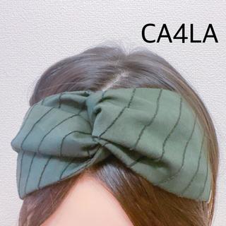カシラ(CA4LA)の美品 CA4LA ヘアバンド(ヘアバンド)