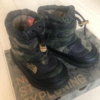 ザノースフェイス(THE NORTH FACE)のabnt様専用ノースフェイスキッズ15センチ美品(長靴/レインシューズ)