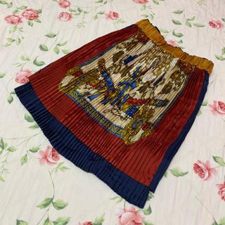 ジェーンマープル(JaneMarple)のジェーンマープル☆jane marple☆スカーフ柄スカート 2点セット(ひざ丈スカート)