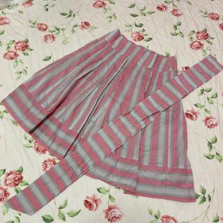 ジェーンマープル(JaneMarple)のジェーンマープル☆jane marple☆ストライプのスカート(ひざ丈スカート)