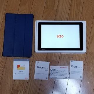 エルジーエレクトロニクス(LG Electronics)のあれこれ様専用 au Qua tab PZ(タブレット)