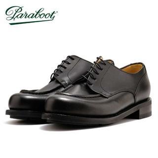 パラブーツ(Paraboot)のパラブーツ シャンボード ブラック PARABOOT UK7 25.5cm(ドレス/ビジネス)