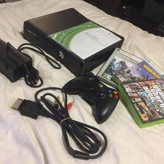 マイクロソフト(Microsoft)のXbox360 250GB 本体 ソフト3本付き(家庭用ゲーム機本体)