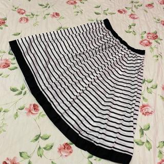 ジェーンマープル(JaneMarple)のジェーンマープル☆jane marple☆ボーダー柄のスカート(ひざ丈スカート)