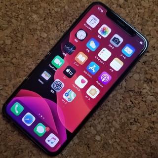 iPhone - 公式海外Simフリー 新品状態 iPhone X 64GB 訳あり ブラック D