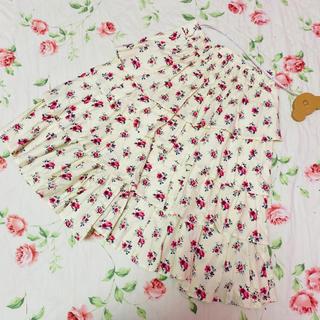 ジェーンマープル(JaneMarple)のジェーンマープル☆jane marple☆ドンルの花柄スカート(ひざ丈スカート)