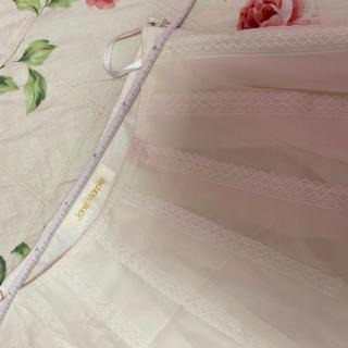 ジェーンマープル(JaneMarple)のジェーンマープル☆jane marple☆レースのシフォンスカート(ひざ丈スカート)