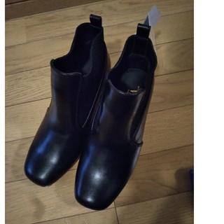 しまむら - 新品タグ付き!しまむら プチプラのあや ブーツ ブラック Lサイズ